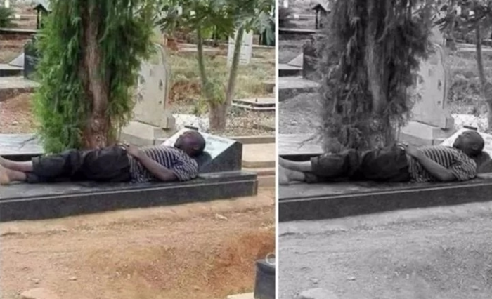 Boy tries to spend 10 nights sleeping in graveyard – See what happened to him after the 4th day