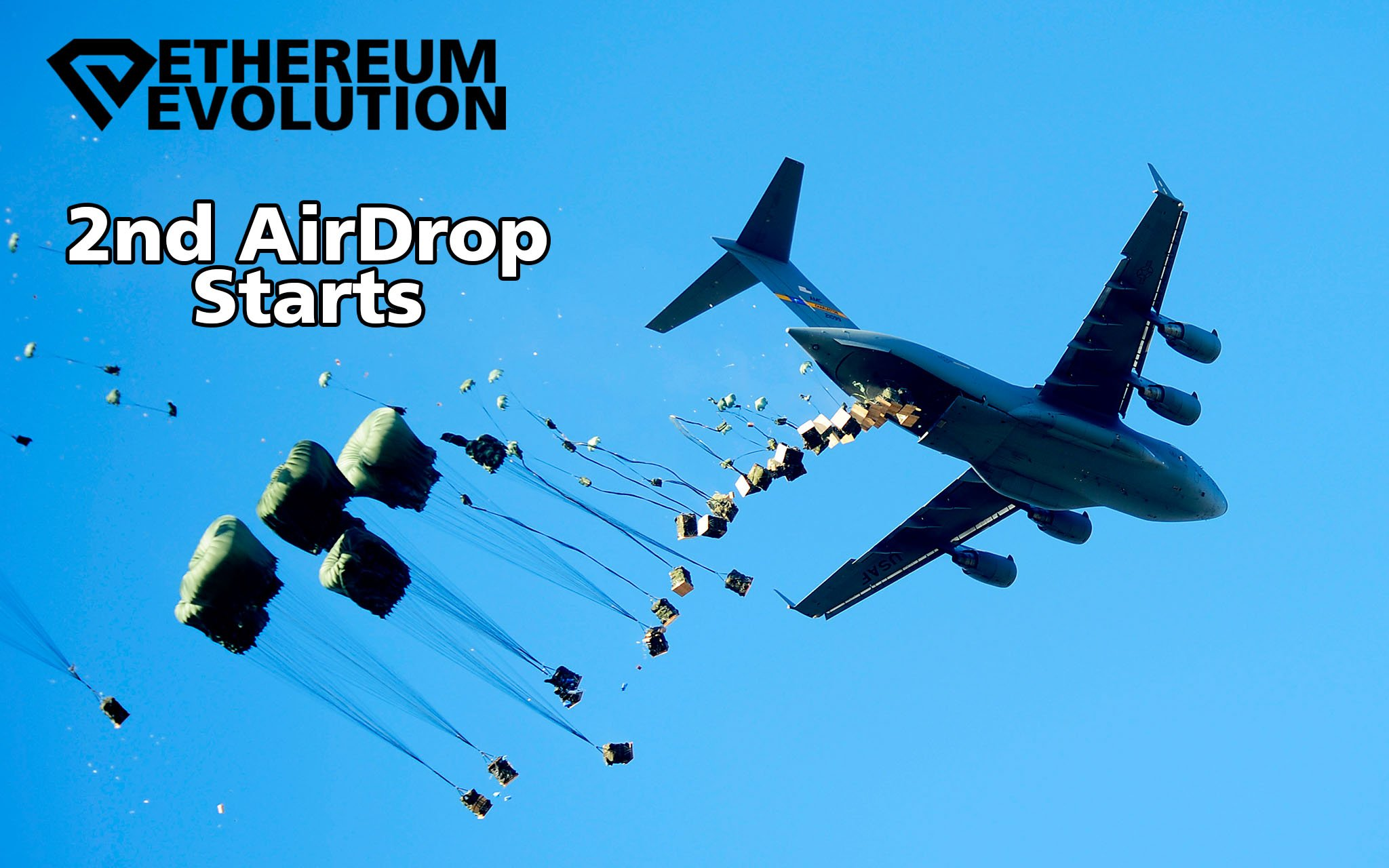 The New Coin: Ethereum Evolution  announces free airdrop for all